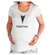 Футболка для беременной Pontiac