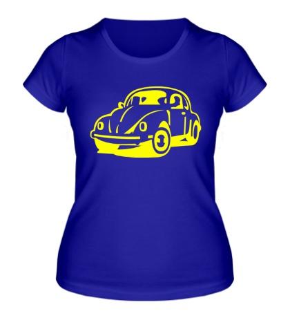 Женская футболка Volkswagen Beetle