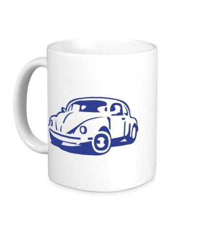 Керамическая кружка Volkswagen Beetle