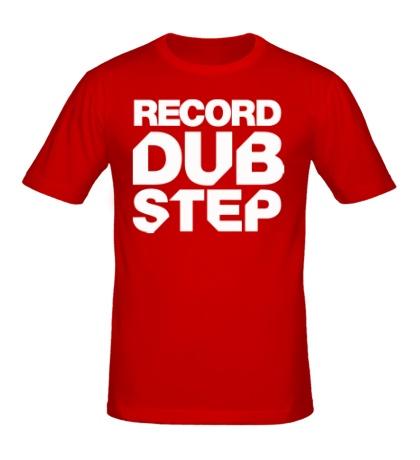 Мужская футболка Record Dubstep