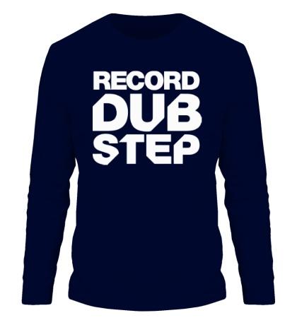 Мужской лонгслив Record Dubstep