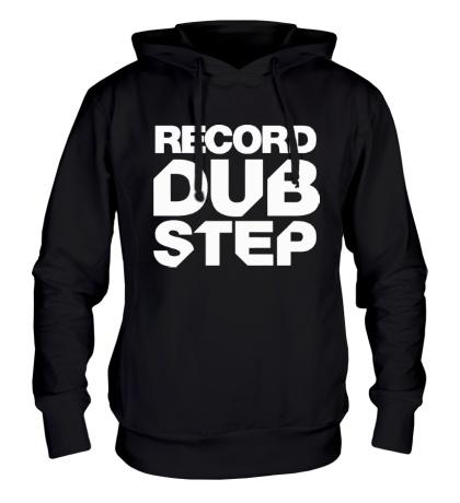 Толстовка с капюшоном Record Dubstep