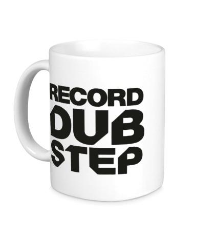 Керамическая кружка Record Dubstep