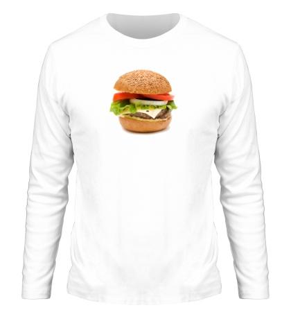Мужской лонгслив Гамбургер