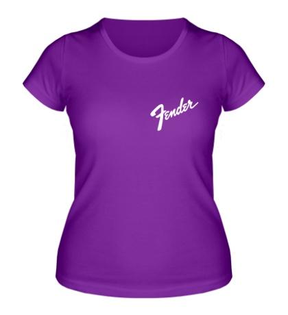 Женская футболка Fender