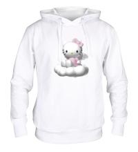 Толстовка с капюшоном Kitty-ангелок