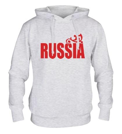 Толстовка с капюшоном Russia