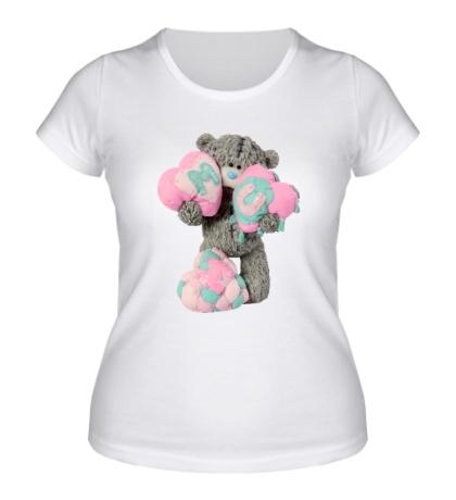 Женская футболка Плюшевый медвежонок