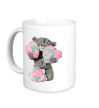 Керамическая кружка Плюшевый медвежонок