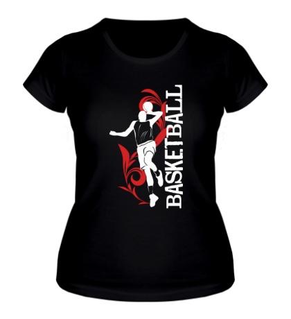 Женская футболка Only Basketball