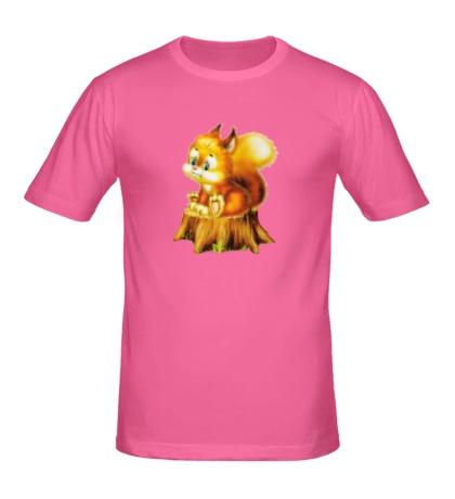 Мужская футболка Белка