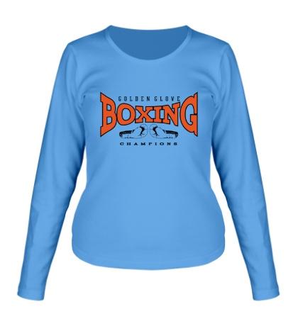 Женский лонгслив Boxing Golden Glove