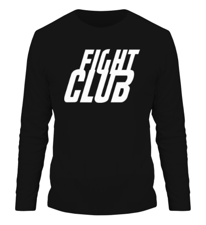 Мужской лонгслив Fight Club