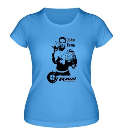 Женская футболка John Cena