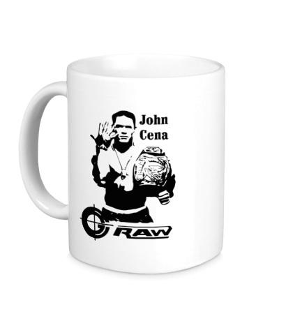 Керамическая кружка John Cena
