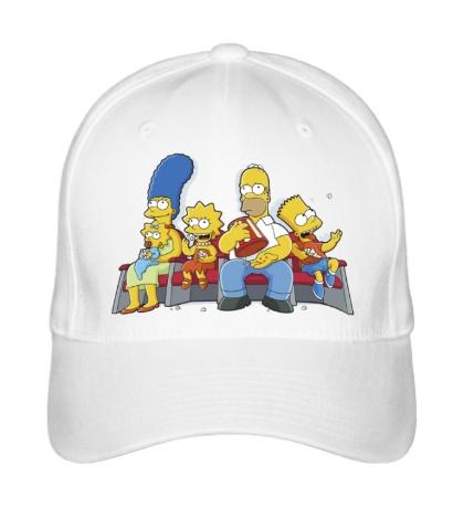 Бейсболка Симпсоны в кинотеатре