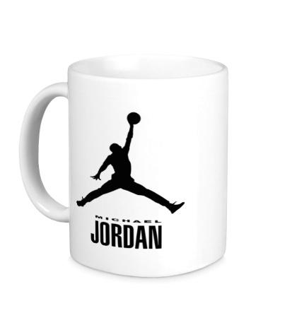 Керамическая кружка Jordan Basketball
