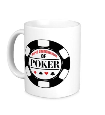 Керамическая кружка World Championship of Poker