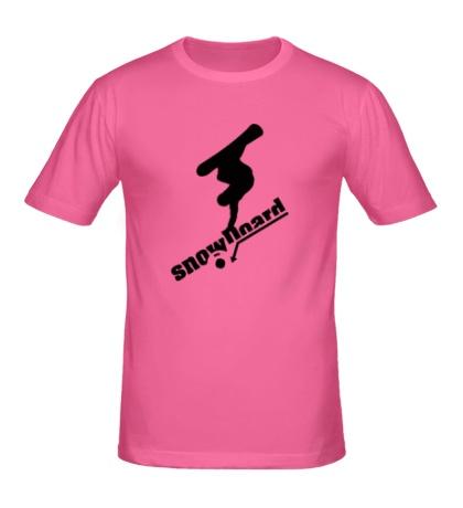 Мужская футболка Snowboard Style