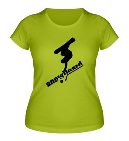 Женская футболка Snowboard Style