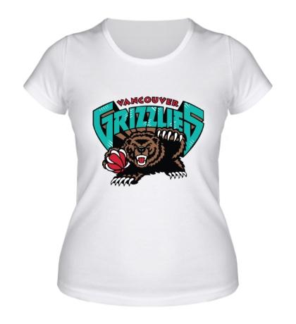 Женская футболка Vancouver Grizzlies