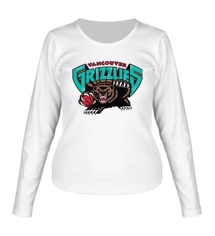 Женский лонгслив Vancouver Grizzlies