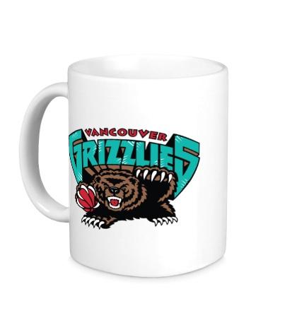 Керамическая кружка Vancouver Grizzlies