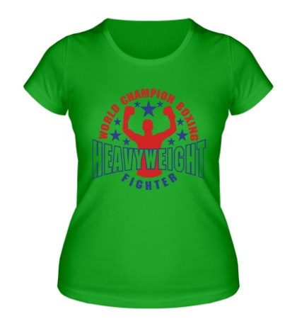 Женская футболка World Champion Boxing