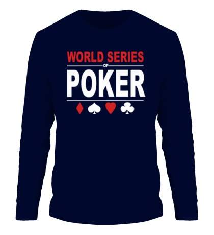 Мужской лонгслив World Series Poker