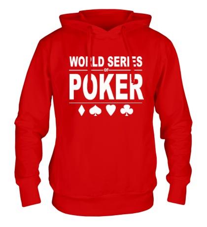 Толстовка с капюшоном World Series Poker