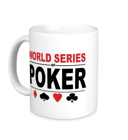 Керамическая кружка World Series Poker