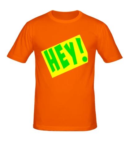 Мужская футболка LMFAO hey!
