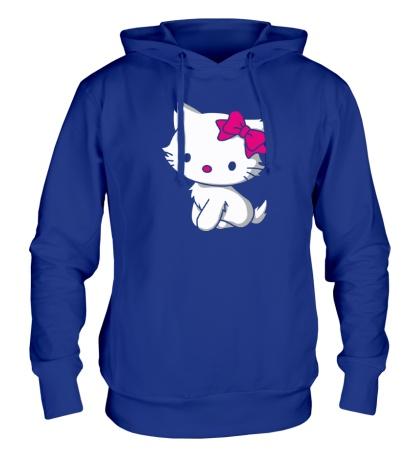 Толстовка с капюшоном Kitty-котенок