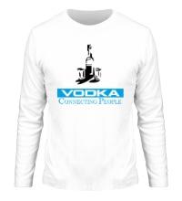 Мужской лонгслив Vodka Connecting People