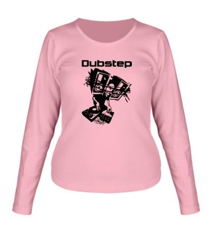 Женский лонгслив Dubstep Music