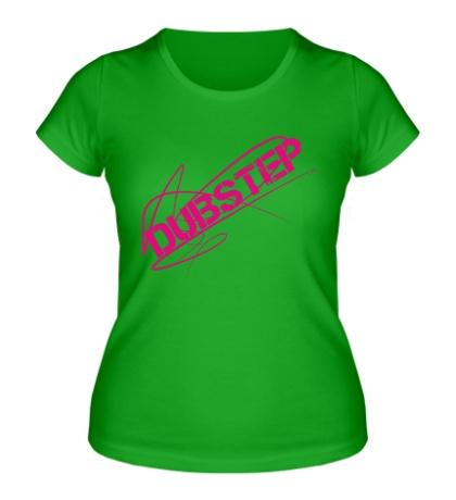 Женская футболка Angry Dubstep