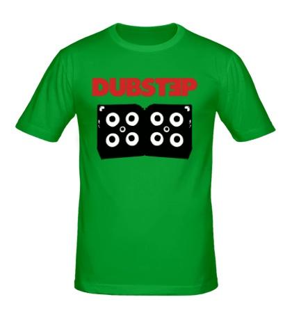 Мужская футболка Dubstep Monster Bass