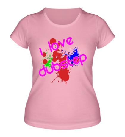 Женская футболка Acid Dubstep