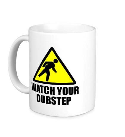 Керамическая кружка Warning Dubstep