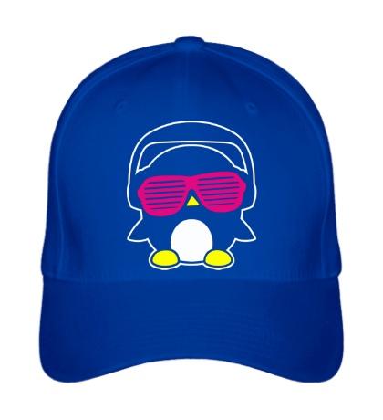 Бейсболка Пингвинчик в очках