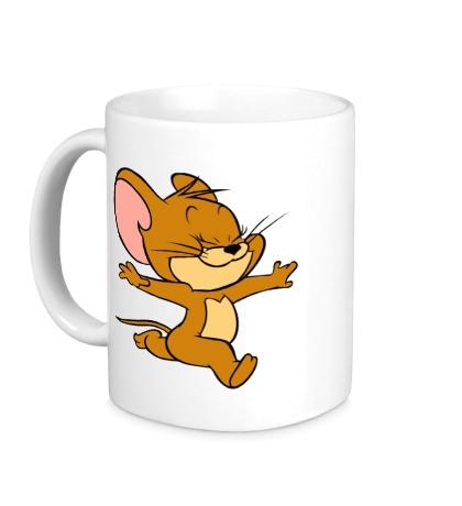 Керамическая кружка Милый Джерри