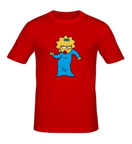 Мужская футболка Мэгги танцует