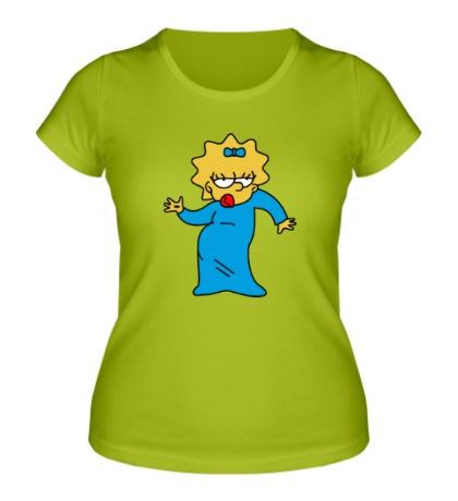 Женская футболка Мэгги танцует