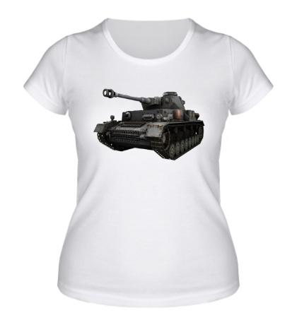 Женская футболка Sd.Kfz. 161 Panzer IV