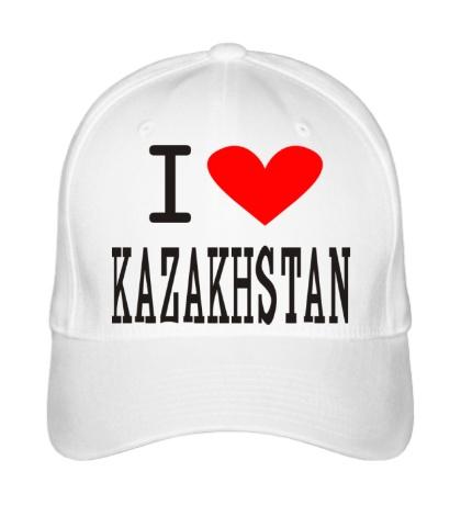Бейсболка I love Kazakhstan