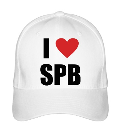 Бейсболка I love SPB