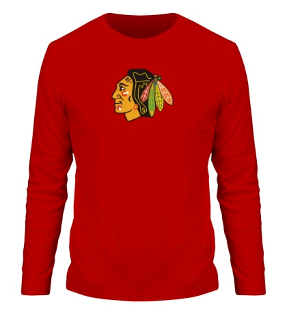 Мужской лонгслив HC Chicago Blackhawks