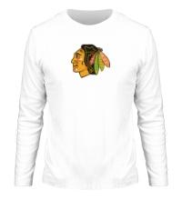 Мужской лонгслив HC Chicago Blackhawks