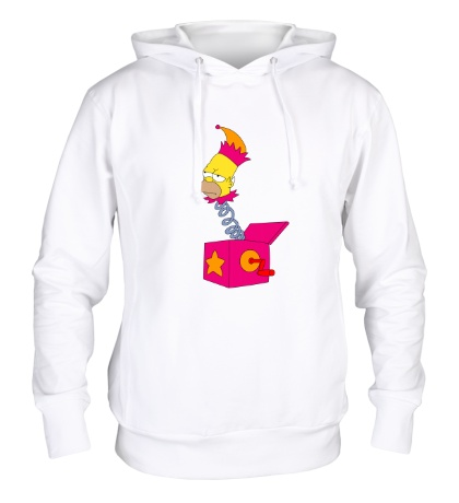 Толстовка с капюшоном Игрушечный Гомер Симпсон