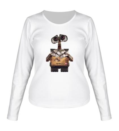 Женский лонгслив Wall-e